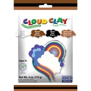 Amaco® Assorted 4 oz. Cloud Clay, Black, Brown, Terra Cotta, White