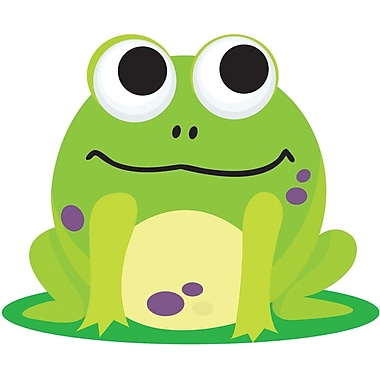Ashley® Magnetic Whiteboard Eraser, Frog, Grades All