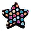 Ashley® Magnetic Whiteboard Eraser, Star Dots, Grades All
