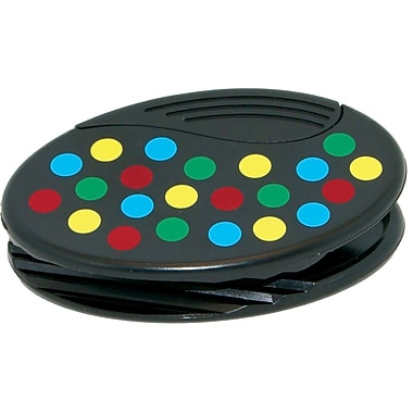 Ashley® Dots Pattern Oval Magnetic Clip