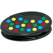 Ashley® Dots Pattern Oval Magnetic Clip