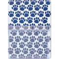 Ashley® Magnetic Whiteboard Utility Pocket, Blue Paws