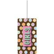 Ashley® Girls Hall Pass, Chocolate Dot