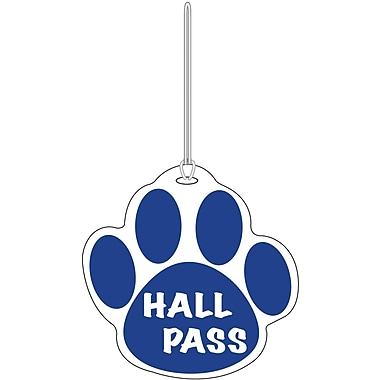 Ashley® Paw Hall Pass, Blue