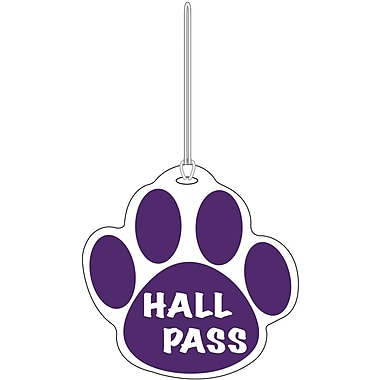 Ashley® Paw Hall Pass, Purple