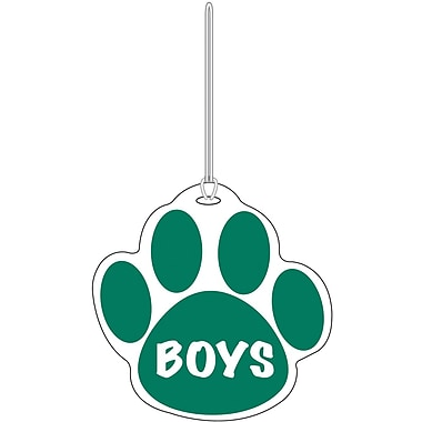 Ashley® Boys Paw Hall Pass, Green