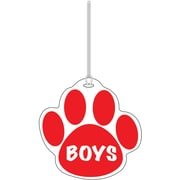Ashley® Boys Paw Hall Pass, Red