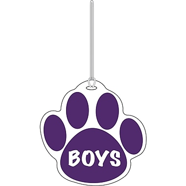 Ashley® Boys Paw Hall Pass, Purple