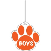 Ashley® Boys Paw Hall Pass, Orange
