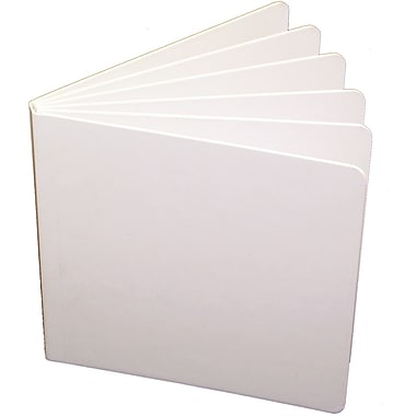 Ashley® Blank Chunky Book, White Hardcover, 5in. x 5in.
