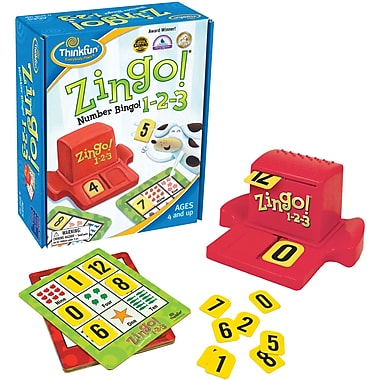 Think Fun® Zingo 123 Game