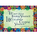 BARKER CREEK & LASTING LESSONS Poster, Life is About Creating Yourself