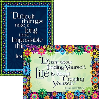 BARKER CREEK & LASTING LESSONS Poster Set, Dare to Dream