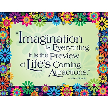 BARKER CREEK & LASTING LESSONS Say-It Chart, Imagination is Everything Italy