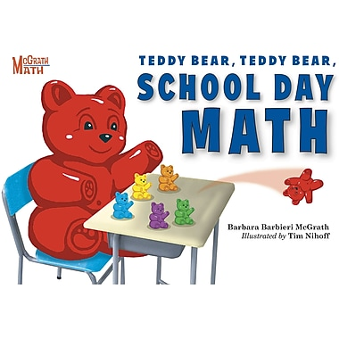 Charlesbridge Publishing Teddy Bear, Teddy Bear, School Day Math (Hardcover) Book