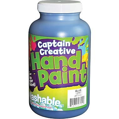 Captain Creative™ 16 oz. Washable Hand Paint, Blue