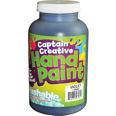 Captain Creative™ 16 oz. Washable Hand Paint, Violet