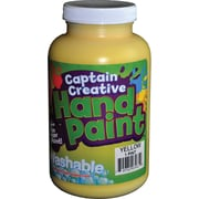 Captain Creative™ 16 oz. Washable Hand Paint, Yellow