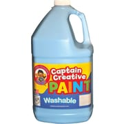 Captain Creative Non-toxic 128 oz. Washable Paint, Light blue (CCR9011G)