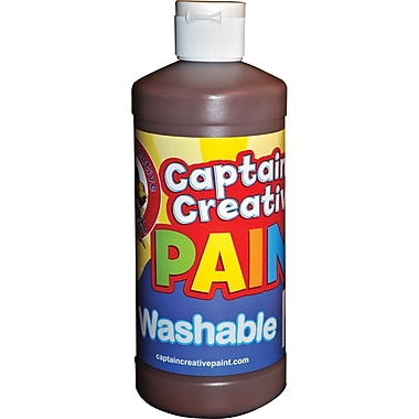 Captain Creative™ 16 oz. Washable Paint, Brown