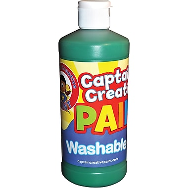 Captain Creative™ 16 oz. Washable Paint, Green