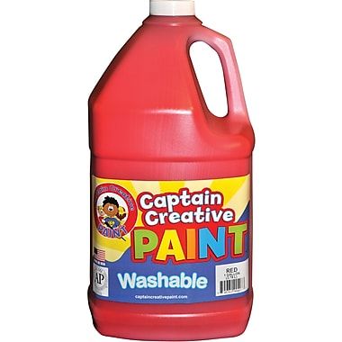 Captain Creative™ 1 oz. Washable Paint, Red