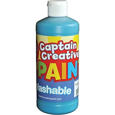 Captain Creative™ 16 oz. Washable Paint, Turquoise