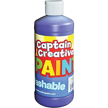 Captain Creative™ 16 oz. Washable Paint, Violet