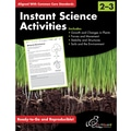 Chalkboard Publishing Instant Science Activities Workbook, Grades 2nd - 3rd