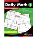 Chalkboard Publishing Daily Math Workbook, Grades 1st
