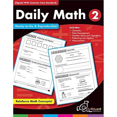 Chalkboard Publishing Daily Math Workbook, Grades 2nd