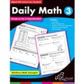 Chalkboard Publishing Daily Math Workbook, Grades 3rd