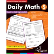 Chalkboard Publishing Daily Math Workbook, Grades 5th