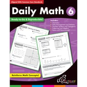 Chalkboard Publishing Daily Math Workbook, Grades 6th