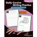 Chalkboard Publishing Daily Cursive Writing Practice Book, Grades 2nd - 4th