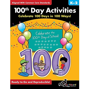 Chalkboard Publishing 100th Day of School Activities Book
