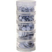 Chenille Craft® Wiggle Eyes Stacking Storage Containers