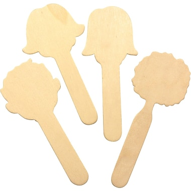 Chenille Craft® Faces Collection Wood Craft Sticks