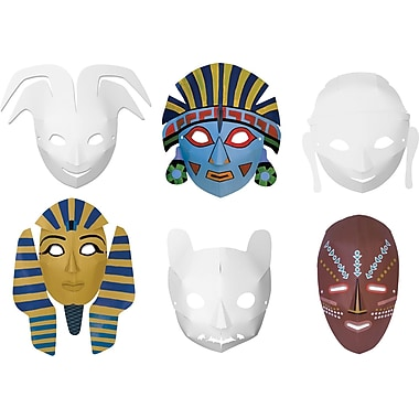 Chenille Craft® Multicultural Dimensional Masks