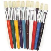 Chenille Craft® Flat Wood Kraft Handle Brush