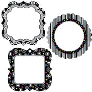 """Creative Teaching Press™ 6"""" Designer Cut-Outs, BW Collection Chart Cards"""
