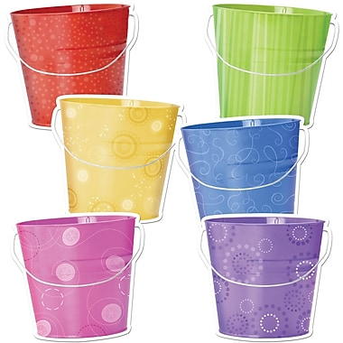 Creative Teaching Press™ 6in. Designer Cut-Outs, Buckets