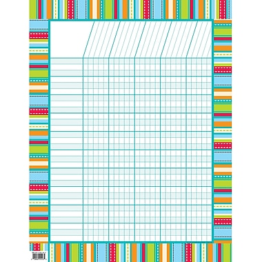 Creative Teaching Press™ Incentive Chart, Stripes and Stitches
