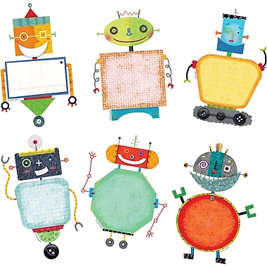 Creative Teaching Press™ 6in. Designer Cut-Outs, Riveting Robots