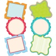 Creative Teaching Press™ 6in. Designer Cut-Outs, Dots On Turquoise Fancy Chart Cards