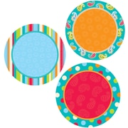 Creative Teaching Press™ 6 Designer Cut-Outs, Dots on Turquoise Dots