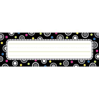 Creative Teaching Press™ Infant - 6th Grades Name Plate, Polka Dot Party