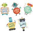 Creative Teaching Press™ Stickers, Riveting Robots