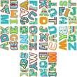 Creative Teaching Press™ Designer Letter Sticker, Assorted