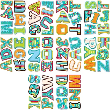 Creative Teaching Press™ Designer Letter Sticker, Assorted